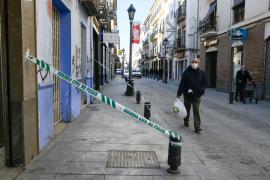 Daños materiales tras los terremotos en Granada