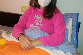 María Cotrina, 29 años, auxiliar de enfermería con covid: «He pasado la peor semana de mi vida»