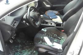 La Policía Nacional detiene a un hombre por once delitos de robo con fuerza en el interior de vehículos en Ibiza
