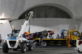 La FIA sanciona a Vettel y saldrá desde el 'pit lane'
