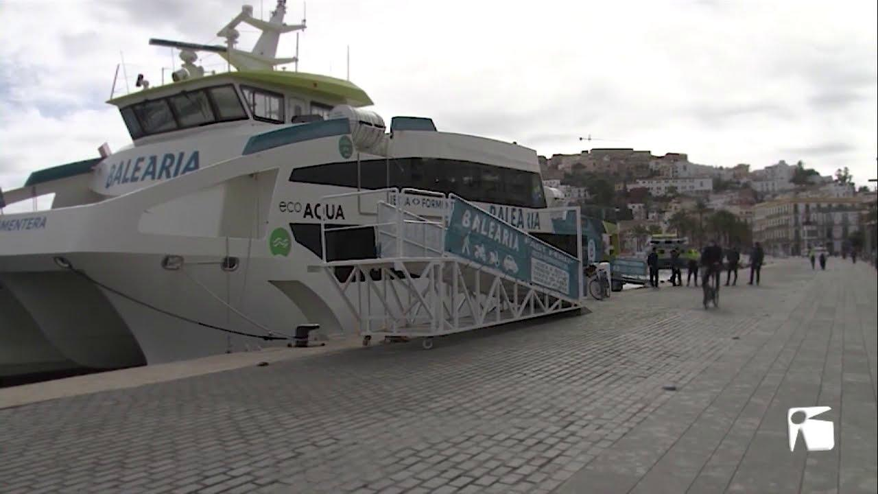 El impacto de la pandemia en el tráfico de pasajeros y mercancías en Baleares