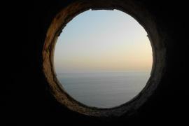 Vista desde Es Cap Blanc.