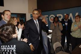 Los estadounidenses votan en una jornada tranquila de elecciones muy disputadas