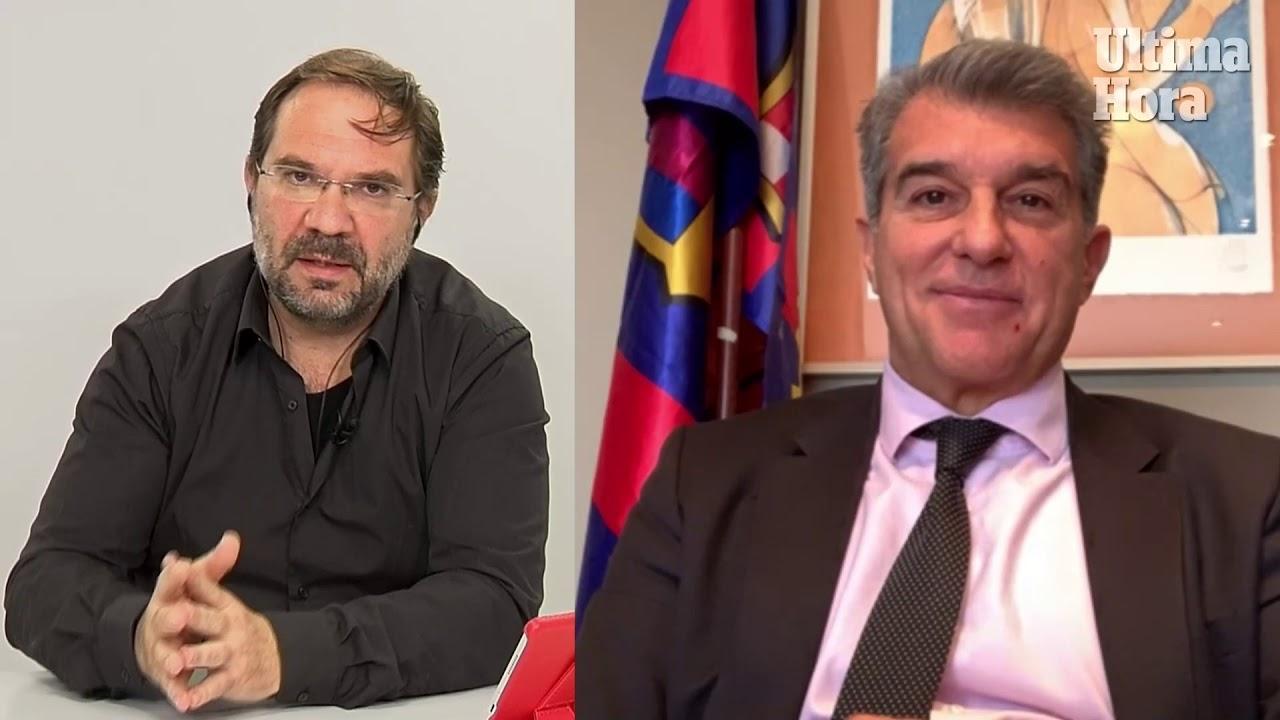 Joan Laporta: «Alemany es el perfil profesional que quiero incorporar al Barça»
