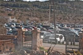 Sant Antoni controlará la afluencia de gente en el Pla de Corona