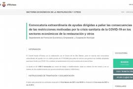 El Consell de Ibiza recibe unas 400 solicitudes de subvenciones en siete horas