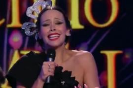 Cristina Pedroche se disfraza de Isabel Pantoja por Carnaval