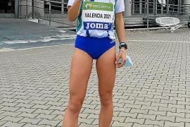 Andrea Romero, bronce nacional y récord balear