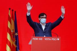 El candidato del PSC, Salvador Illa, ha ganado las elecciones