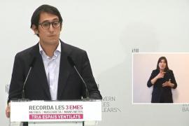 Iago Negueruela se estrena como portavoz del Govern pidiendo perdón por su uso de la «lengua propia»