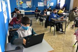 Ibiza cuenta con once grupos escolares en cuarentena