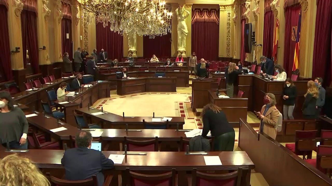 Tres partidos defenderán en el Parlament balear el recurso de inconstitucionalidad de los PGE