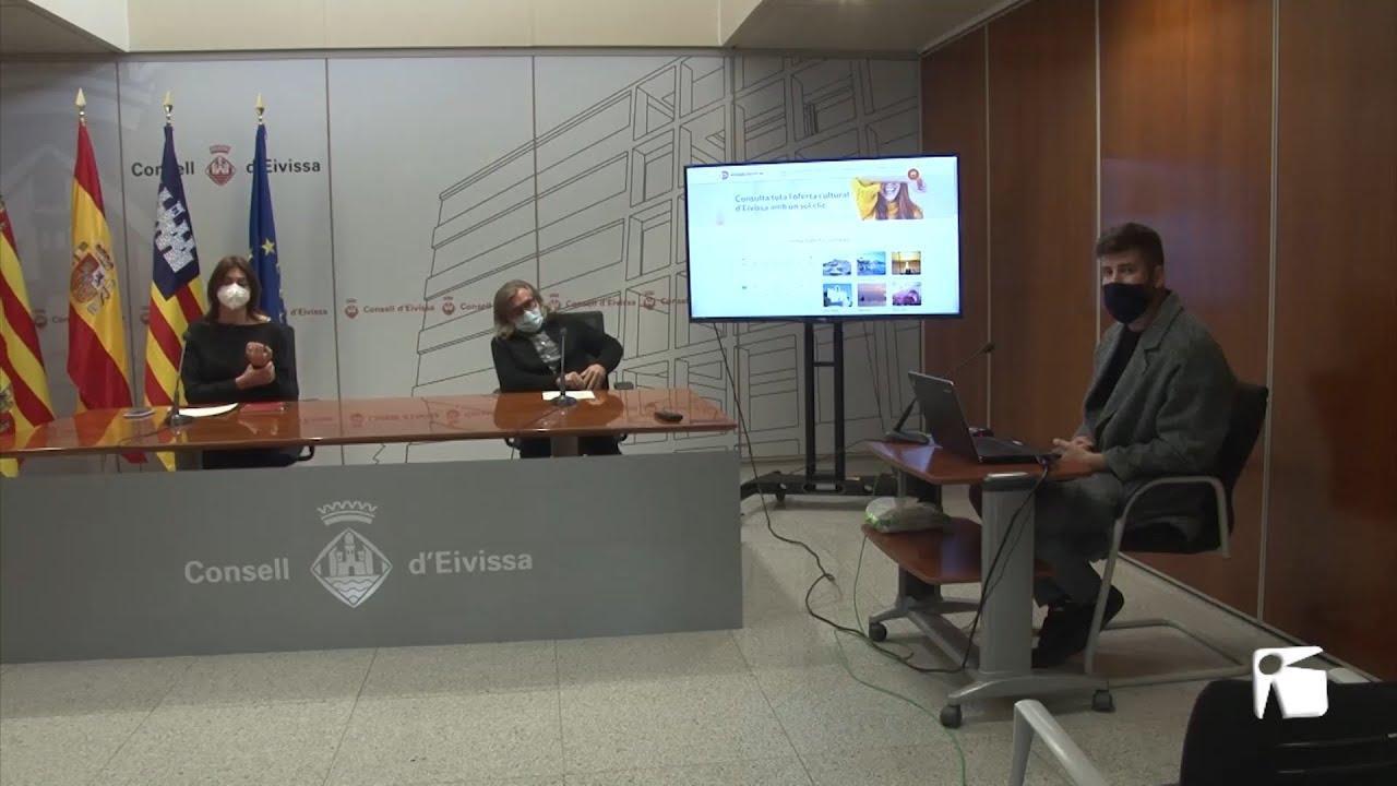 La web 'www.eivissacultural.es' se amplía con más artistas, una agenda y tours virtuales