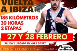 Nacho Ribas dará la vuelta a Ibiza