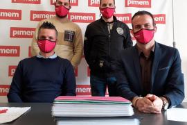 Alejandro Martínez, Manolo Muriano, Xisco Rigo y Jordi Mora
