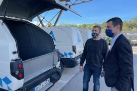 Sant Antoni instala un depósito de aguas regeneradas para la limpieza viaria y espacios públicos