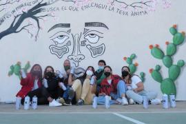Un mural para mandar un mensaje positivo