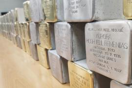 Baleares colocará 92 adoquines para homenajear a víctimas del fascismo y del nazismo