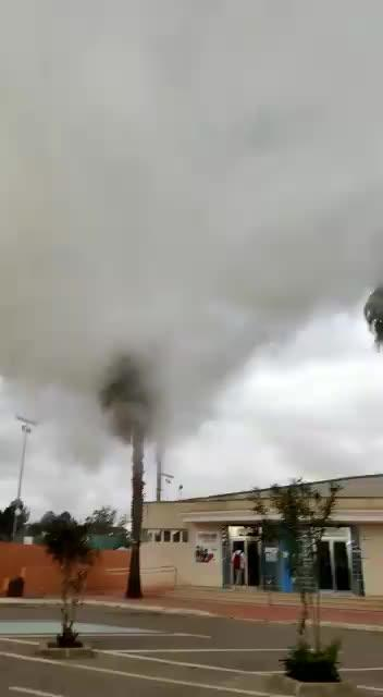El PSOE denuncia que Santa Eulària mintió sobre el informe de los humos de la piscina de Santa Gertrudis