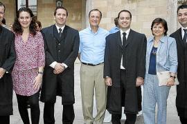 Jura de nuevos colegiados en el colegio de Graduados Sociales de Balears