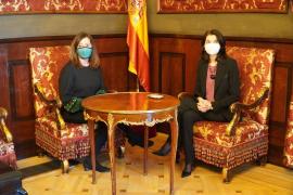Armengol reclama en el Senado que el Estado y la UE atiendan en sus políticas a la insularidad de Baleares