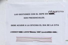 Sa Unió reclama un SEPE «adecuado y operativo» todo el año en Formentera