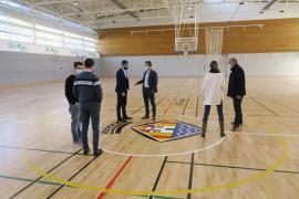 Finalizan las reparaciónes del polideportivo Sa Pedrera tras los daños causados por la DANA de 2019