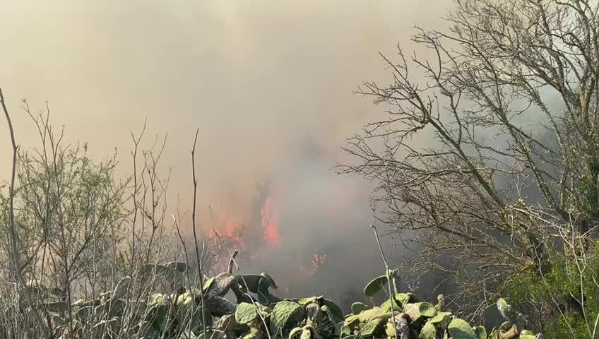 Controlado el incendio en Es Torrent de s'Aigua