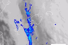 La Aemet advierte de lluvias y la llegada de un frente frío con bajada de temperaturas