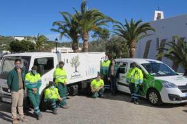 Sant Josep apuesta por un servicio de jardinería sostenible