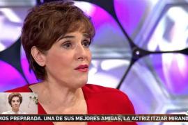 La emoción de Toñi Moreno al enterarse de la tragedia familiar de Anabel Alonso