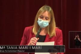 Tania Marí pregunta a Patricia Gómez sobre la UVI 24 horas en el norte de Ibiza