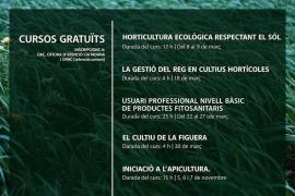 Formentera oferta seis cursos gratuitos para el sector agrícola y ganadero