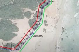 El PSOE de Santa Eulària exige la retirada del proyecto de mega pasarela de Cala Nova