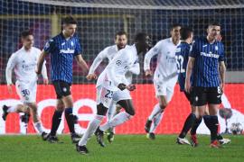 Mendy da la victoria al Madrid ante el Atalanta