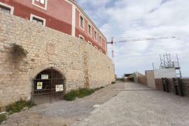 El Consell de Ibiza recibe el modificado del túnel del Parador tras la aparición de nuevos restos