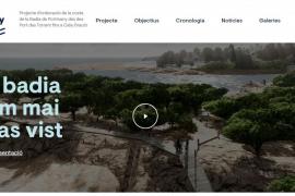 Una página web informará de los avances en el futuro paseo de la bahía de Portmany