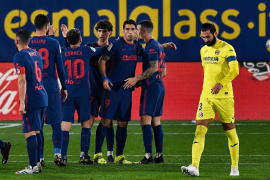 El Atlético tira de efectividad para tumbar al Villarreal