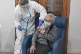 Primer día con 0 positivos en las residencias de Baleares tras la vacunación