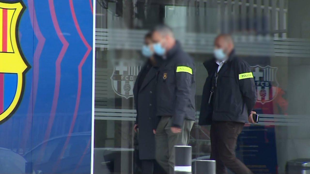 Detenido el expresidente del Barça Josep Maria Bartomeu