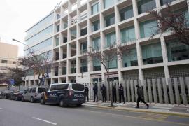 La manifestación organizada por Resistencia Balear, en imágenes