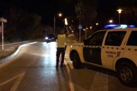 Detenido un joven con marihuana tras intentar huir de un control en Sant Antoni