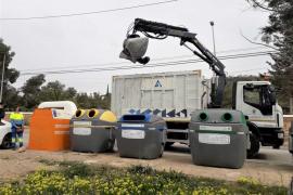 Sant Antoni lanza una campaña para evitar los vertidos incontrolados de residuos voluminosos