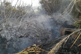 Sobresalto en Santa Gertrudis por una quema descontrolada