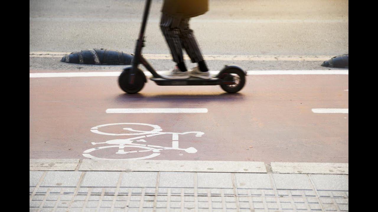 Palma crea nuevos 'carriles 30' para que los patinetes puedan circular