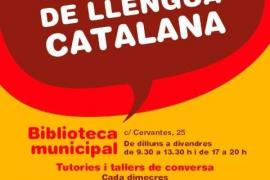 Sant Antoni reactiva el Punt d'Autoaprenentatge de Llengua Catalana en la Biblioteca Municipal