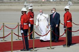 El Papa, en la «tierra martirizada» de Irak