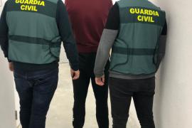 Detenido un violento y peligroso delincuente por robos en Ibiza y el asalto a un taxista