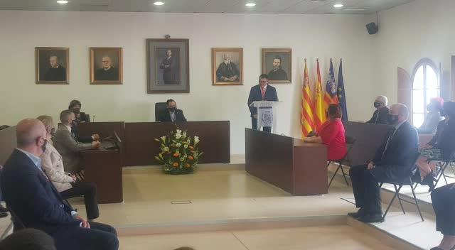 Ángel Luis Guerrero, nuevo alcalde de Sant Josep