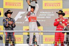 Hamilton gana en Austin y el Mundial se decidirá en Brasil